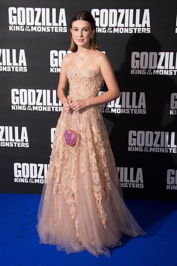 Millie Bobby Brown Godzilla Outfits