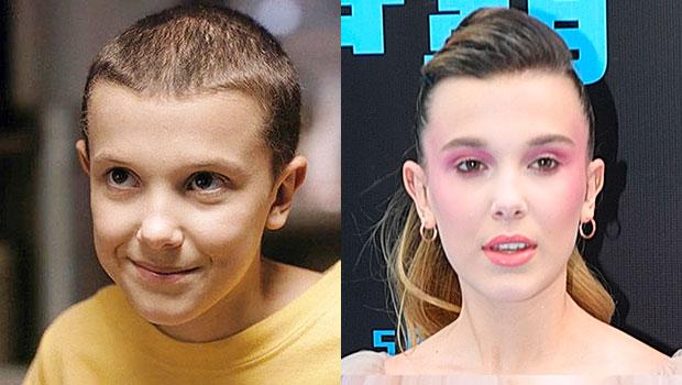 Millie Bobby Brown Hair Makeover New Long Blonde Locks Hollywood Life