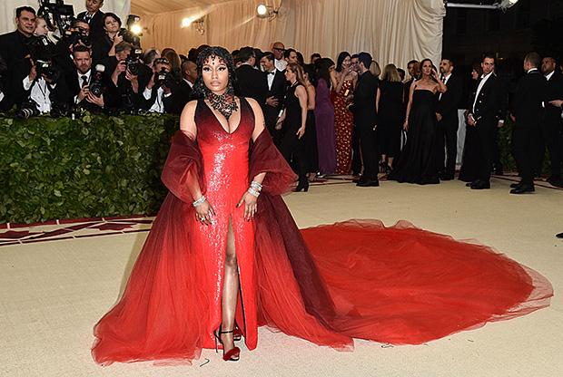 Cardi B Copied Nick Minaj Met Gala Dress