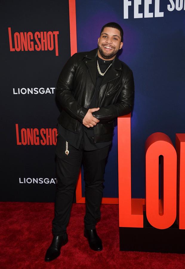 O'Shea Jackson Jr. at NY Premiere of 'Long Shot'