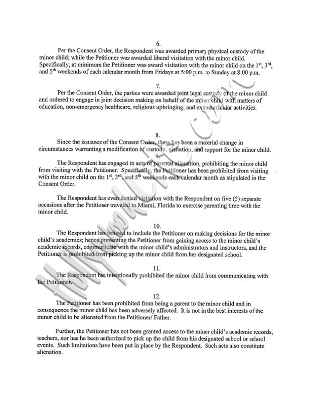 Stevie J. Custody Battle With Joseline Hernandez