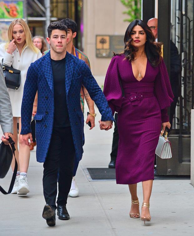 Priyanka Chopra Purple Dress