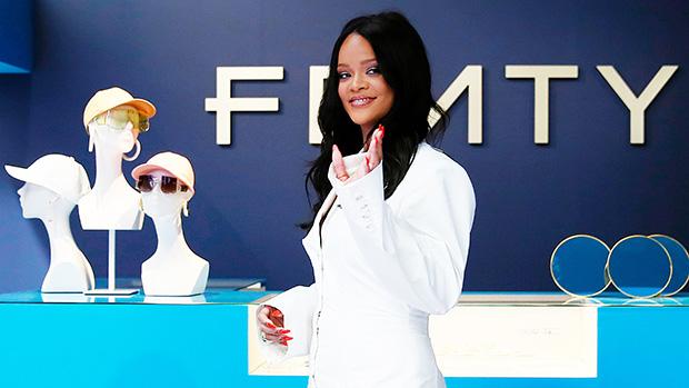 Rihanna White Dress Fenty