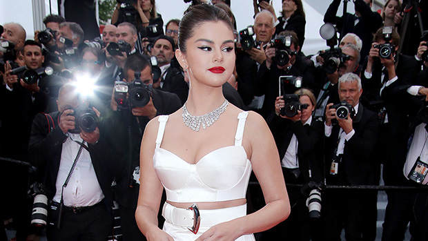 Selena Gomez White Outfit Cannes