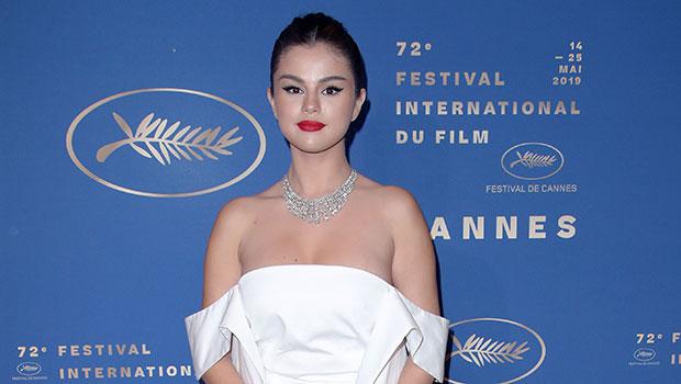 Selena Gomez White Mini Dress Cannes