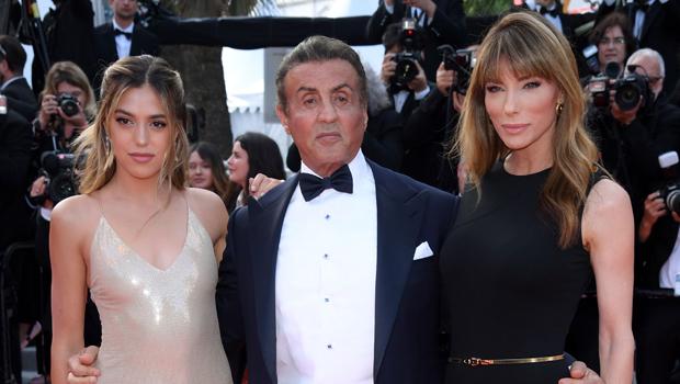 Sistine Stallone, Sylvester Stallone, Jennifer Flavin