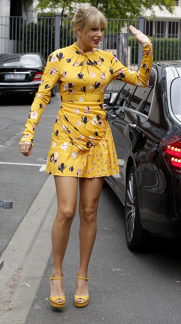 Celebrities Wearing Florals