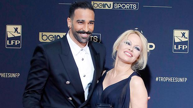 Pamela Anderson Adil Rami Split