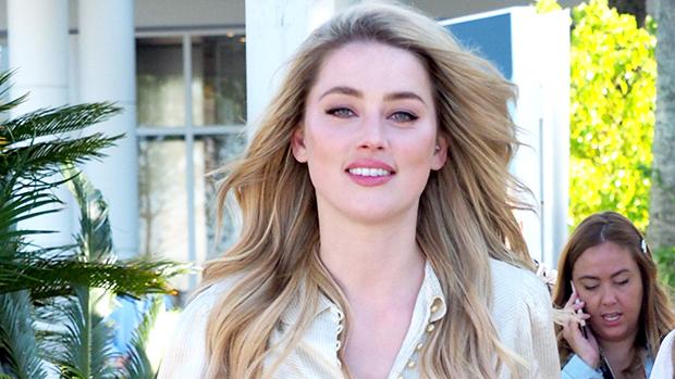 Amber Heard Braless
