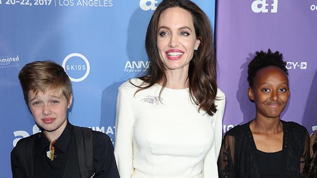 Brad Pitt Angelina Jolie New Mexico Kids