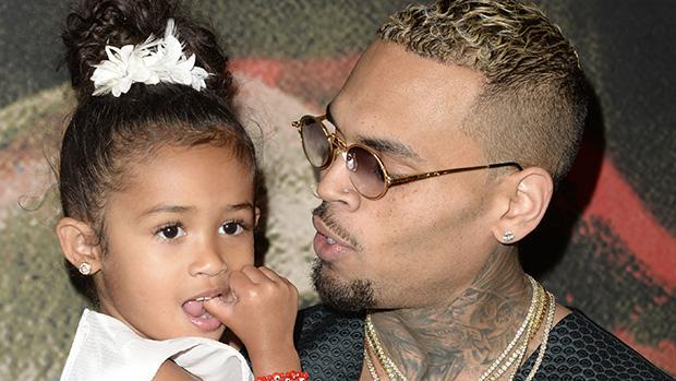 Chris Brown Cuddles Royalty