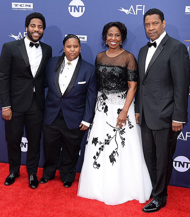 Denzel Washington & Kids AFI Gala