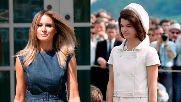 Melania Trump & Jackie Kennedy