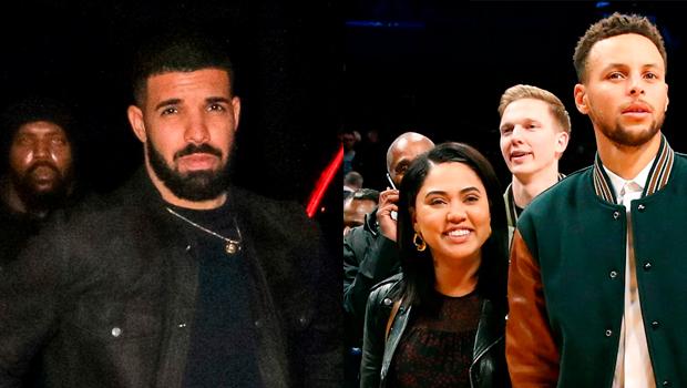 Drake, Steph, Ayesha Curry