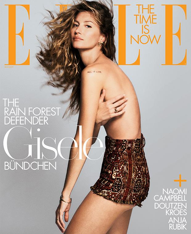 Gisele Elle Cover
