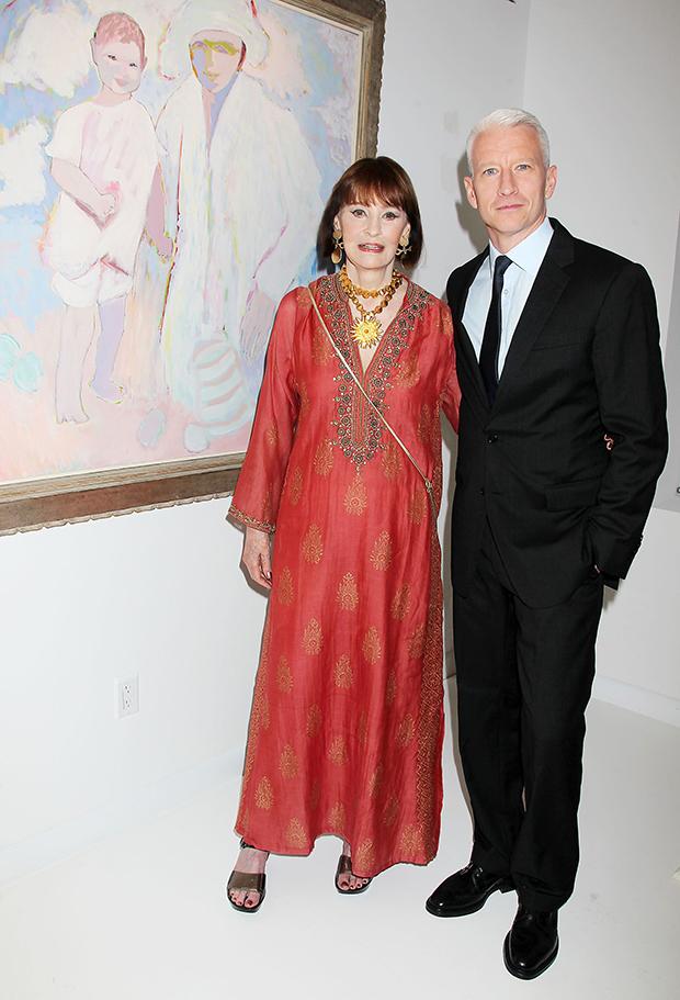 Gloria Vanderbilt Anderson Cooper