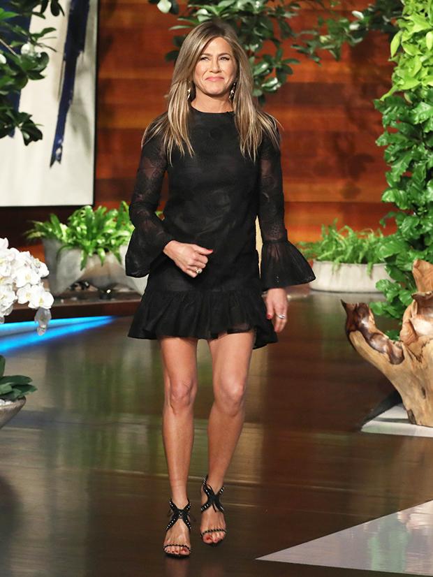 Jennifer Aniston Mini Dress