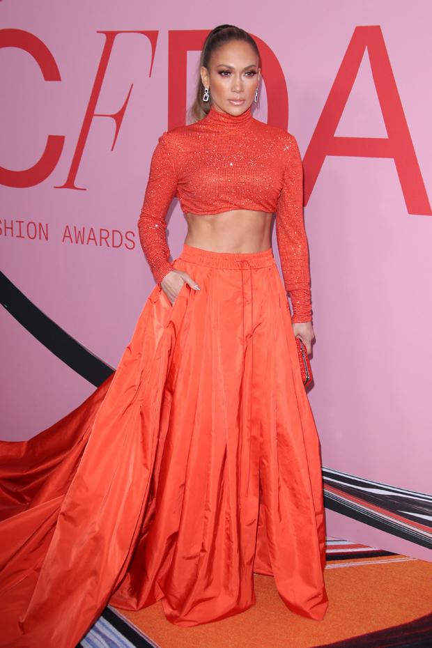 Jennifer Lopez Dress CFDA Awards
