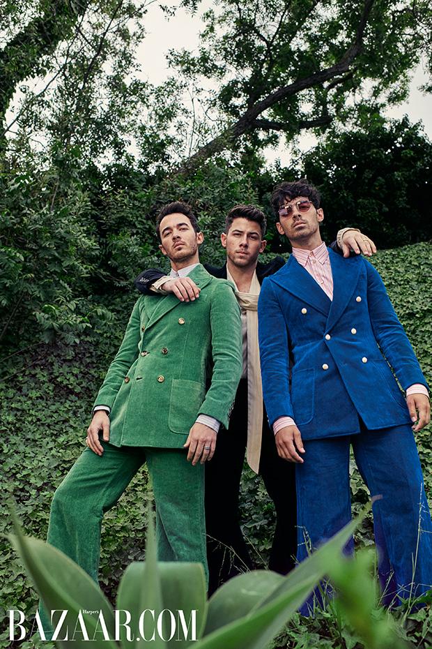 Jonas Brothers Harper's Bazaar