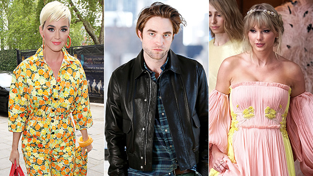 Katy Perry Robert Pattinson Taylor Swift