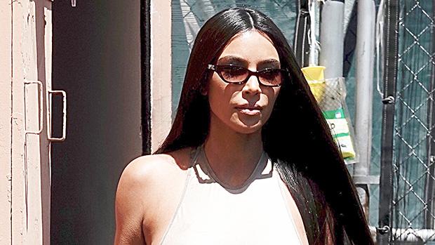 Kim Kardashian Sheer Bodysuit