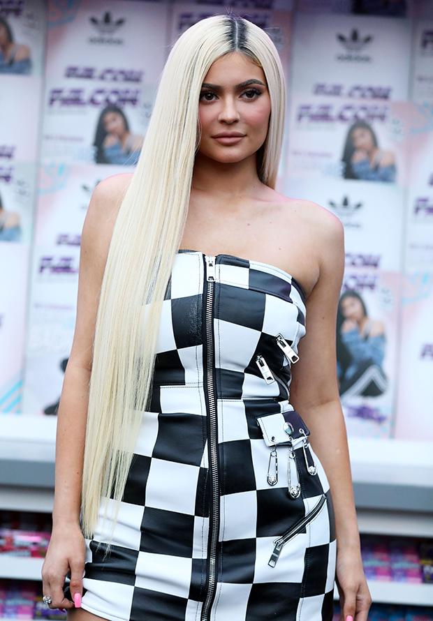 Kylie Jenner Blonde hair