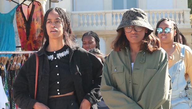 Malia And Sasha Obama