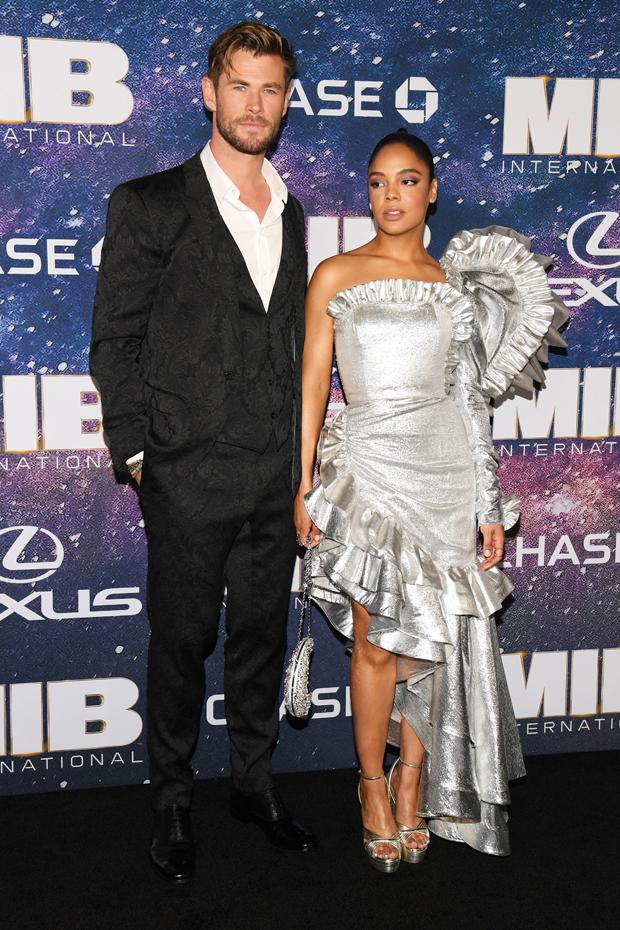 Chris Hemsworth, Tessa Thompson