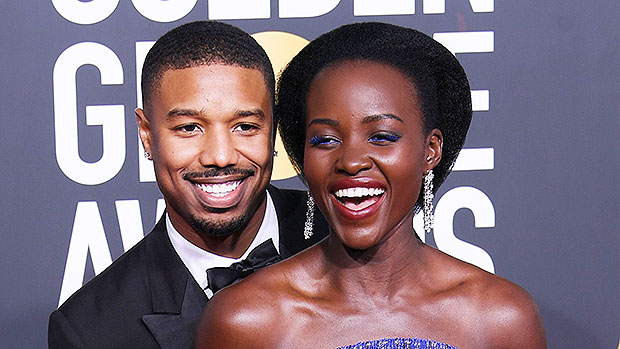 Michael B. Jordan & Lupita Nyong'o Golden Globes