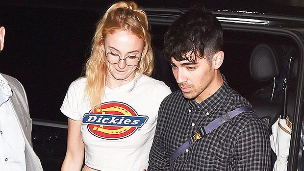 Joe Jonas Sophie Turner Paris Date