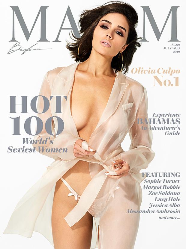 Olivia Culpo Maxim Cover