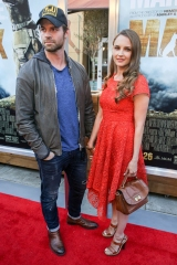 """Daniel Gillies, left, and Rachel Leigh Cook arrive at the LA Premiere of """"Max"""" at the Egyptian Theatre, in Los Angeles LA Premiere of """"Max"""", Los Angeles, USA"""