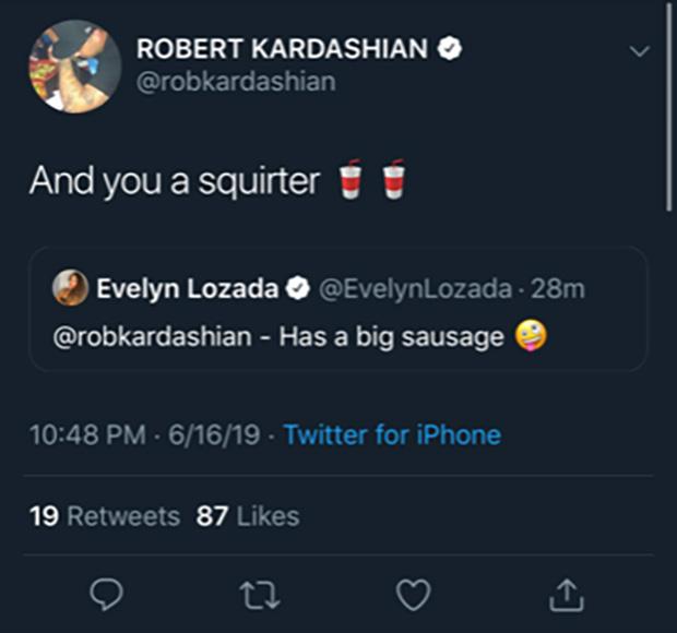 Rob Evelyn Tweet