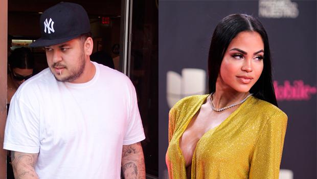 Rob Kardashian and Natti Natasha