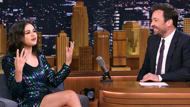 Selena Gomez Sequin Dress