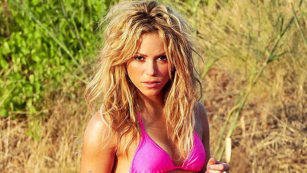 Shakira Pink Bikini