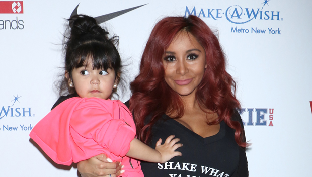 Snooki's Daughter Giovanna With Angelo