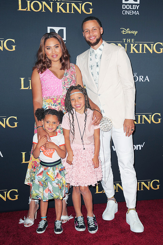 steph curry family