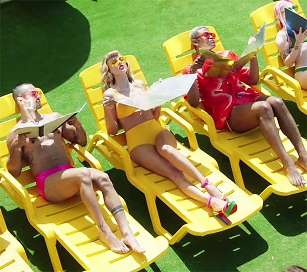 Taylor Swift Bikinis