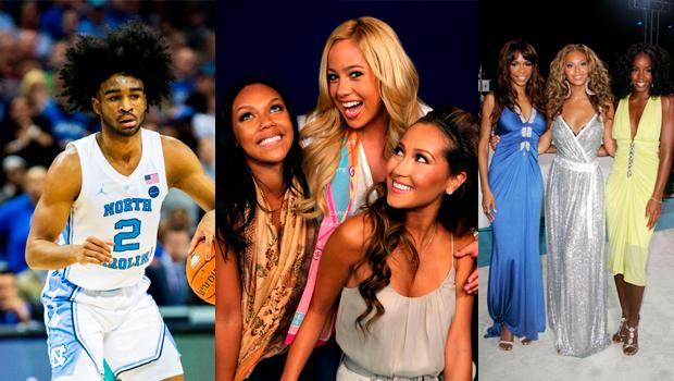 NBA Draft Destiny's Child Cheetah Girls
