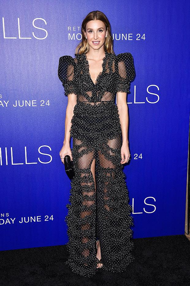 Whitney Port Sheer Dress