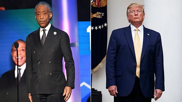 Al Sharpton Donald Trump
