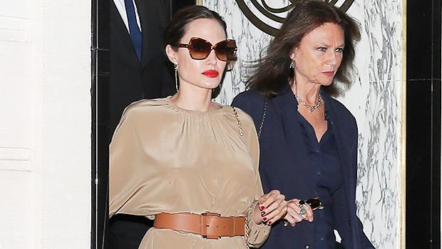 Angelina Jolie And Jacqueline Bissett