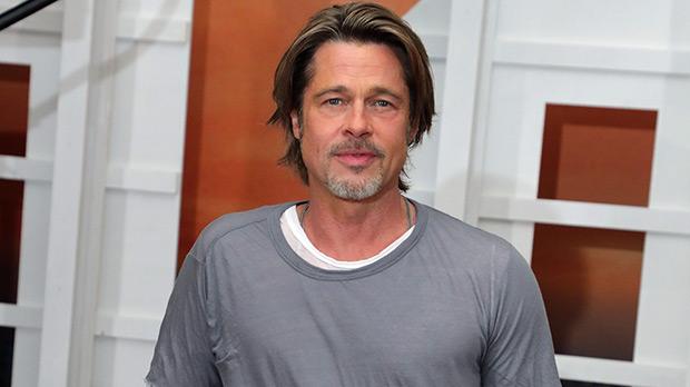 Brad Pitt Promotes New Film