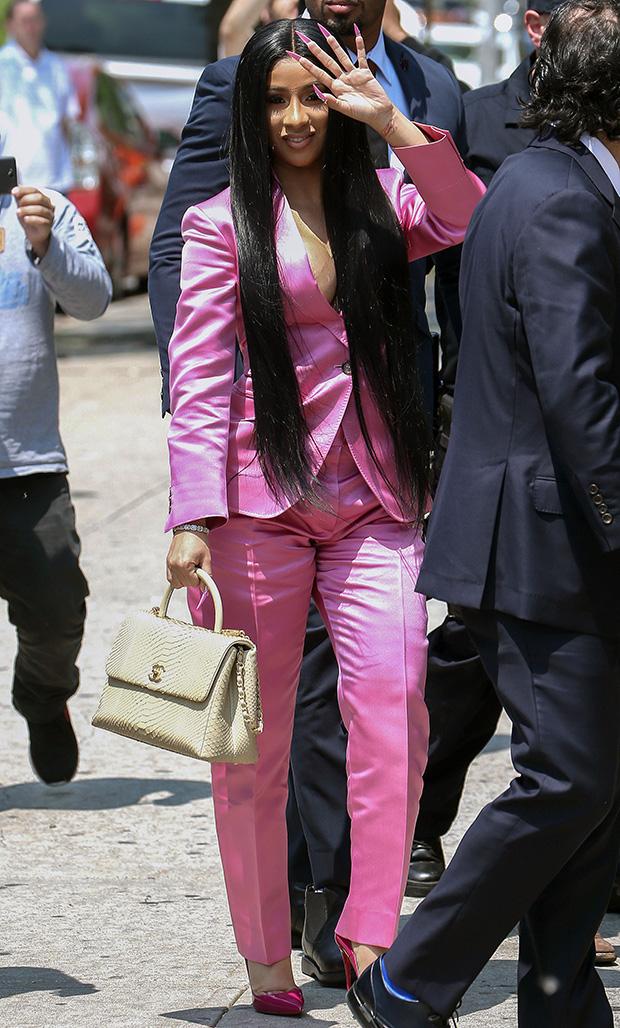 Cardi B leaving court