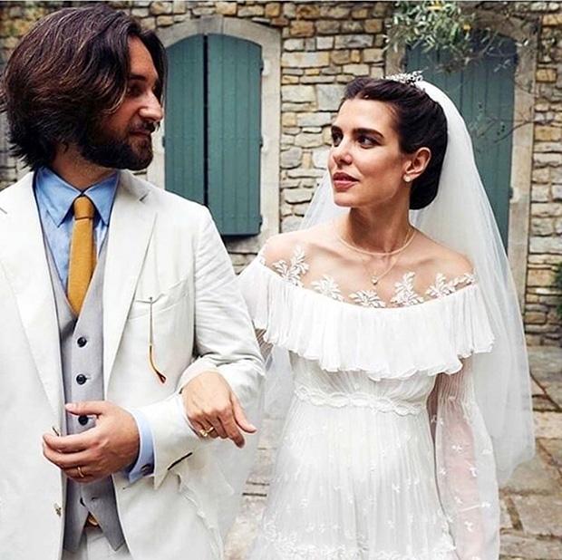 Charlotte Casiraghi & Dimitri Rassam's wedding