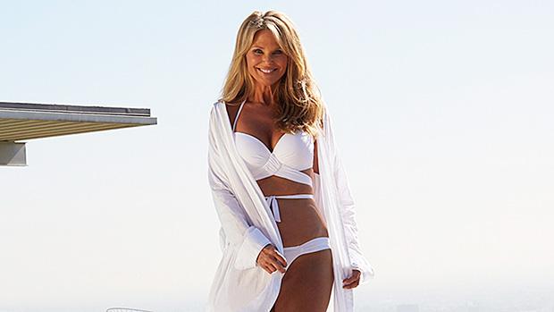 Christie Brinkley July 4th swimsuit