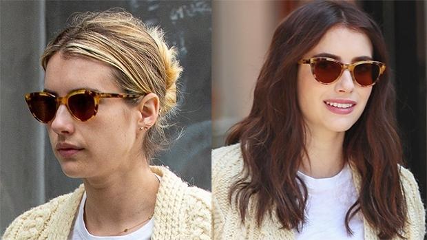 Emma Roberts Hair Makeover