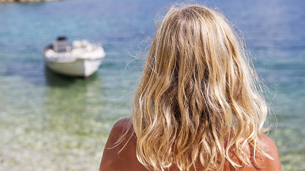 keep hair from fading summer