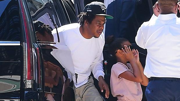 Blue Ivy Jay Z Photo Shoot Beyonce NYC Pics